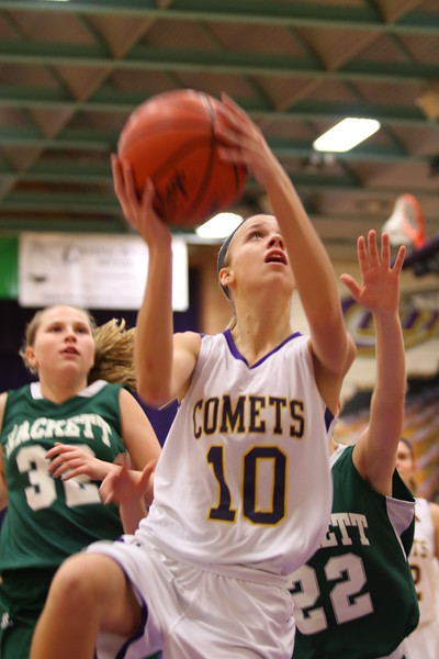 Girls Basketball vs. Hackett - 1/14/16 - KCHS JV