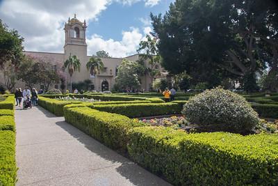CA/Balboa Park - San Diego March, 2018