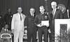 IPD Graduation, April 28, 1988, Img. 16, with Mayor Hudnut, Richard I. Blankenbaker, Paul A. Annee