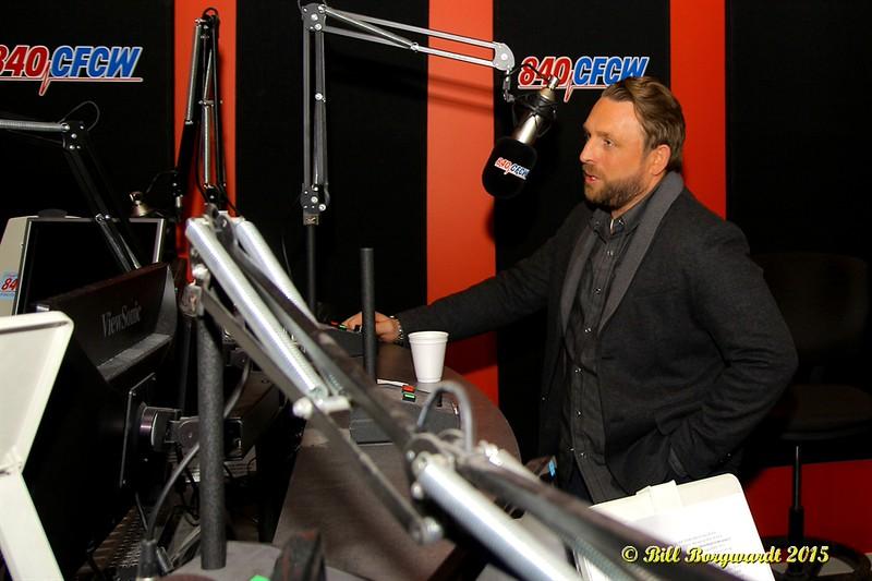 Johnny Reid at CFCW 011