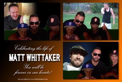 Matt Whittaker Celebration of Life