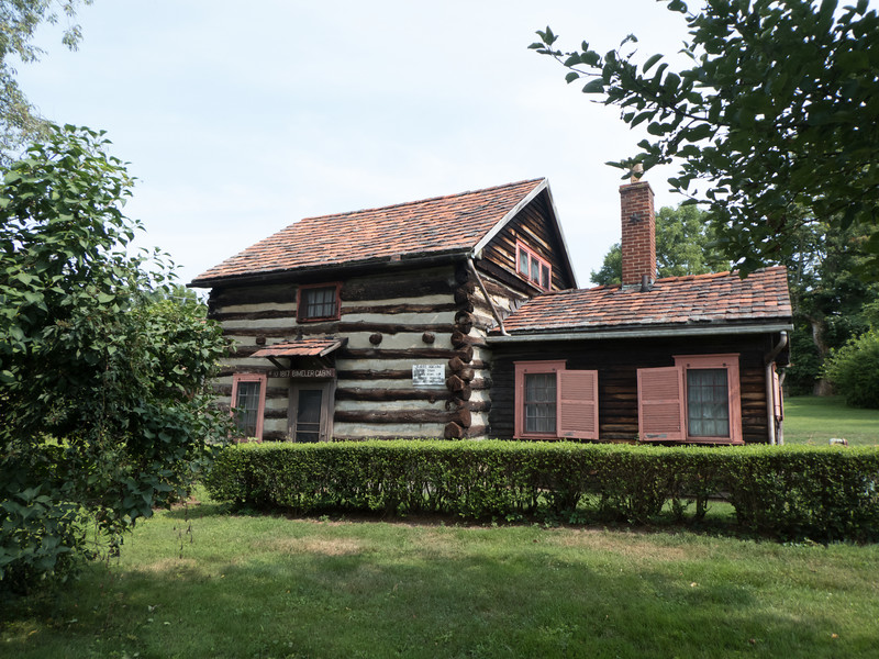First meeting house and home of founder, Joseph Bimeler. Zoar was established in 1817 by German Separatists.