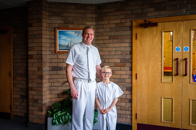 Seth's Baptism - 2019