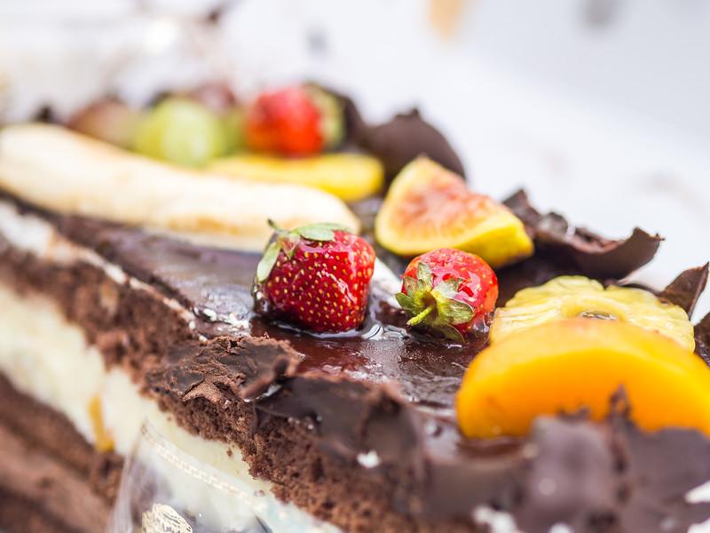 A cake