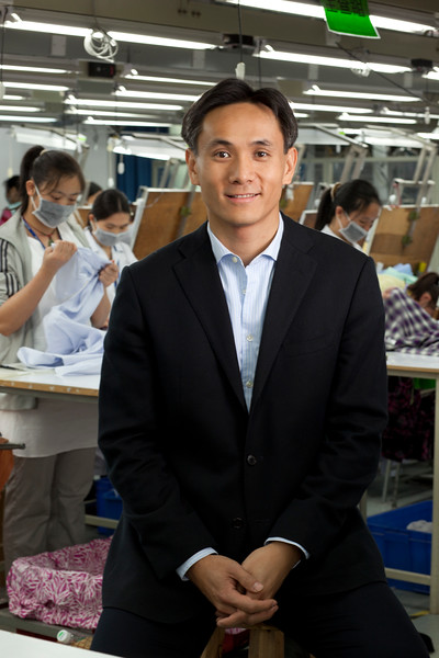 Lever Style clothing factory in Shenzhen, China