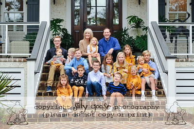 Ussery Family 2021 - The Whole Crew!