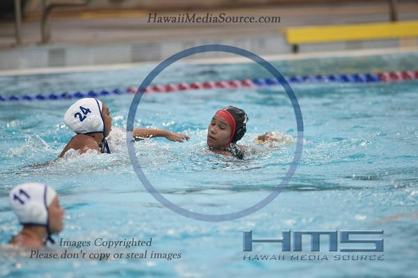 Kahuku Girls Water Polo - Kai 4-25-14