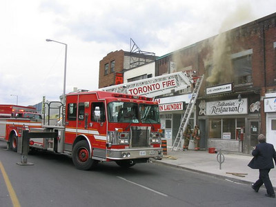May 28, 2005 - 3rd Alarm - 2754 Danforth Ave.