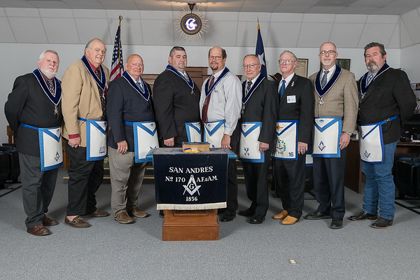 San Andres Masonic Lodge Officers