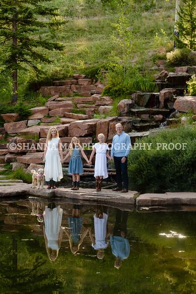 Hansen Family - Moonlight, Big Sky, MT