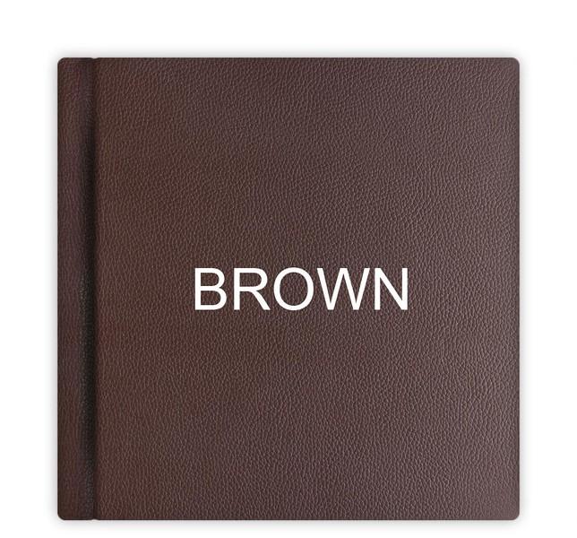 Leather Album Cover