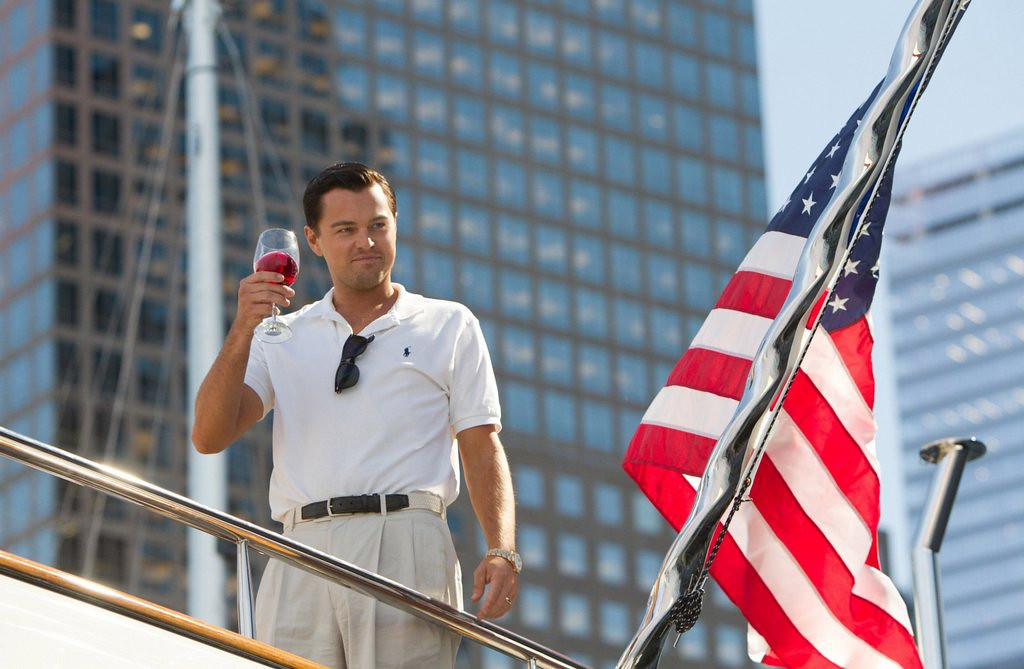 """. <p>9. �THE WOLF OF WALL STREET� <p> Leo, Scorsese, 506 F-bombs AND candle sodomy? I think I hear Oscar calling ...    <p><b><a href=\'http://entertainment.time.com/2014/01/03/the-wolf-of-wall-street-breaks-f-bomb-record/\' target=\""""_blank\""""> HUH?</a></b> <p>   (AP Photo/Paramount Pictures, Mary Cybulski)"""