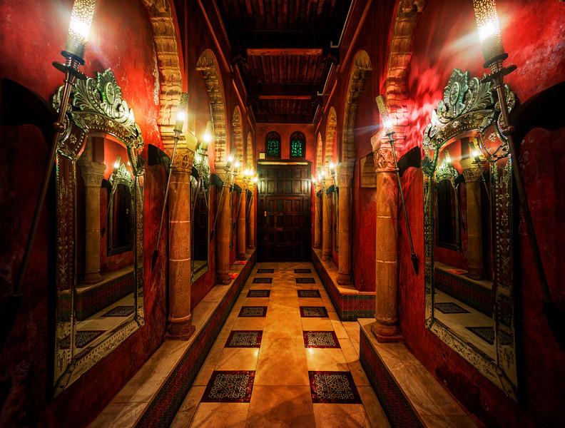 A Hallway Of Mirrors In Rabat