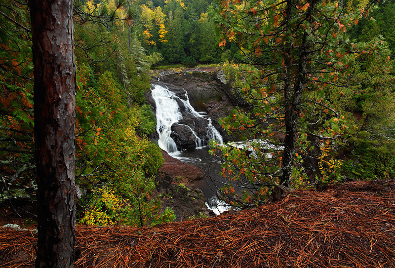 Withholding Waters - Saxon Falls (Iron County - Wisconsin)