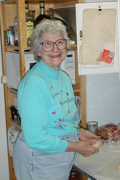 Sometimes Betty went fishing with us but most of the time she stayed home cooking supper for the Capt.