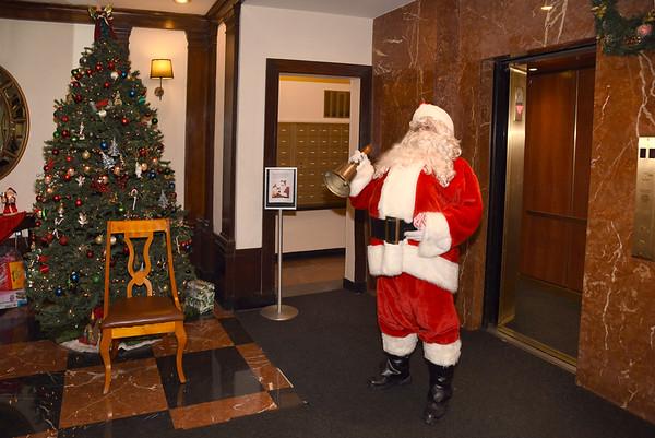 Dec 22, 2015 - Santa's visit