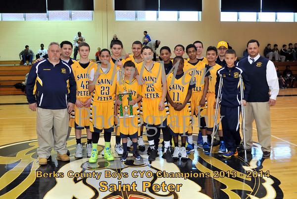Boys Championship - St. Peter vs St. Margaret's