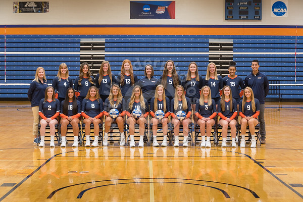 Wheaton College 2019 Volleyball