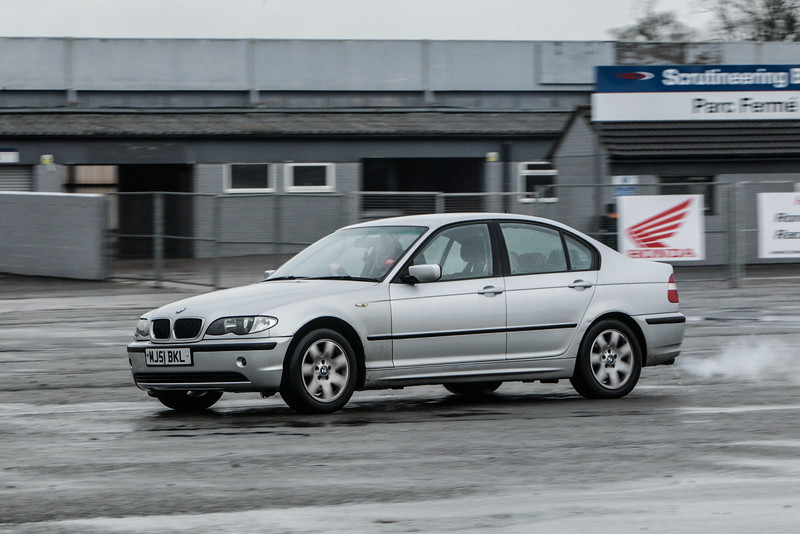 Silver BMW