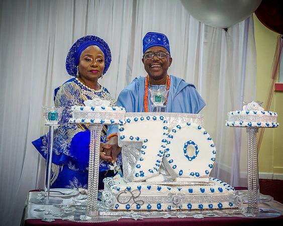 Elder Lamidi Erhunmwunsee's 70th Birthday