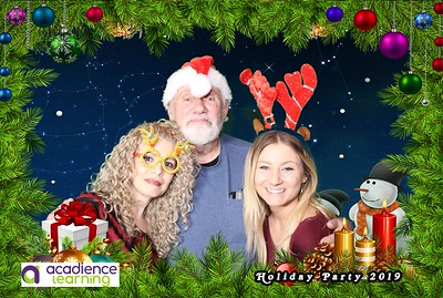 Acadience Learning Holiday Party Photobooth