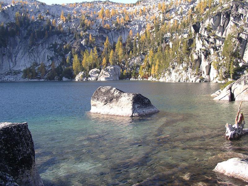 Last look as we head down ~ Lake Vivianne.