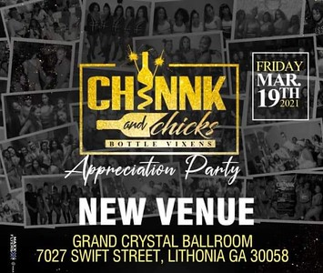 CHINNK & CHICK APPRECIATION PARTY 2021