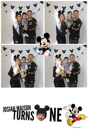 Josiah Maison 1st Birthday