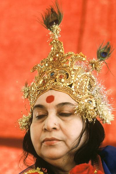 Shri Krishna Puja, 19 January 1985, Nasik India (Colin Heinson photo)