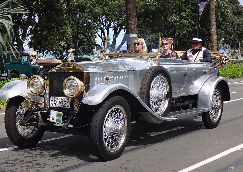 Vintage car tours were available for a $5 contribution