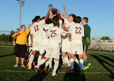 Boys Soccer: Region 5A Championship, Albemarle vs. Broad Run 6.5.14
