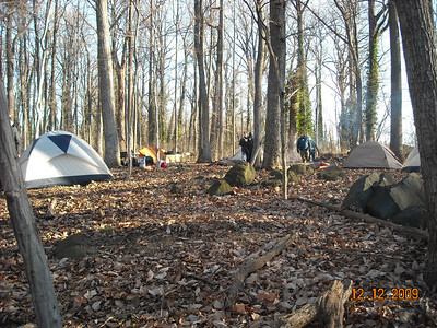 Christmas / Merit Badge Trip Dec 09