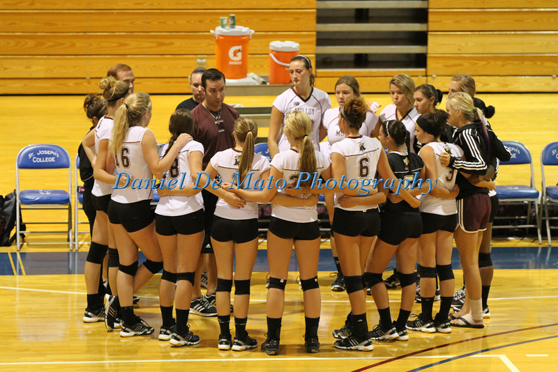 Molloy College Women's Volleyball @SJC 8-27-12