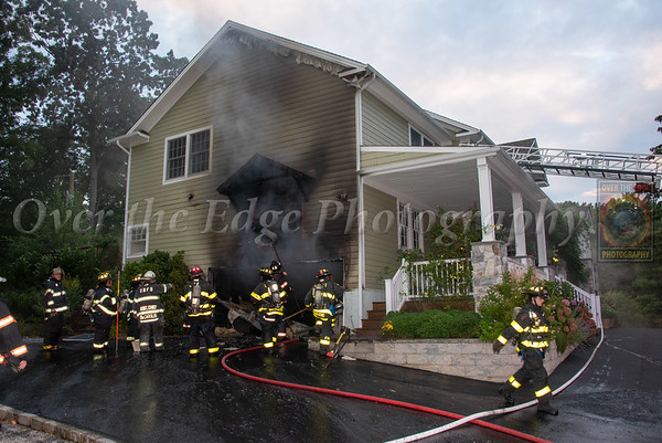 Oyster Bay House Fire 08/20/2021