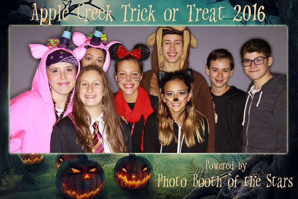 "Applecreek Estates ""Trick-or-Treat 2016"""