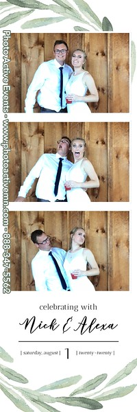 2020-08-01 Creekside Farm Wedding Photo Booth