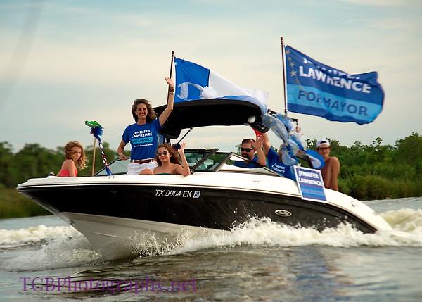 Dickinson Boat Parade