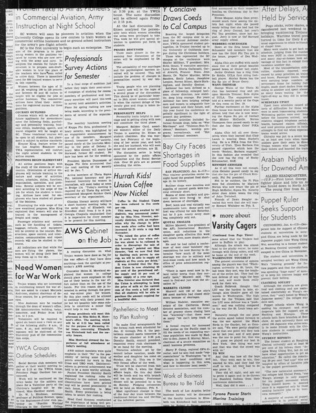 Daily Trojan, Vol. 34, No. 65, January 05, 1943
