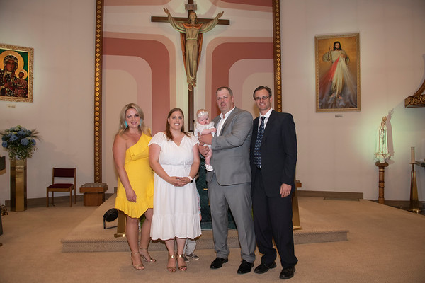 Allie's Baptism