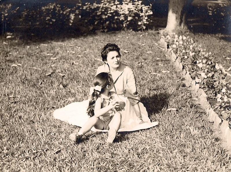 Lourdes Madeira Rosa e filha Ana