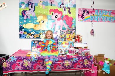 Payton's 4th Birthday Party