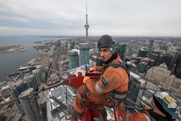 Working Over Toronto