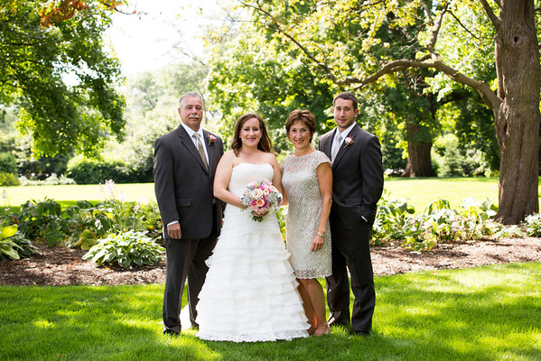 Jaclyn and Kevin Wedding - Couple, Family and Wedding Party