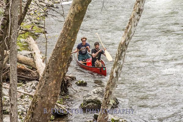 Roe Jan Canoe Race 2017