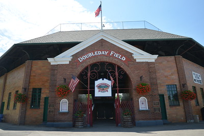 Game #1 at DoubleDay Field