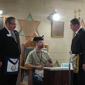 Tyre Lodge #42 Officer Installation