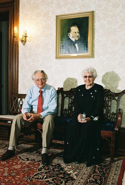 Kate's mom and dad - Margit and John