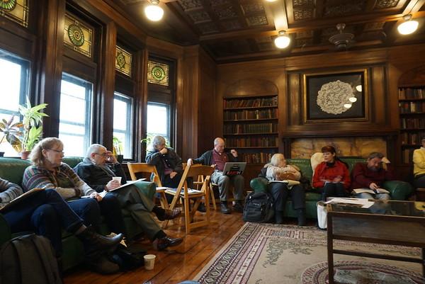 Our Board Retreat, February, 2015