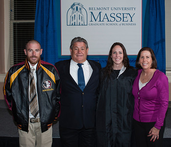 College of Business Administration - Hooding December 2013