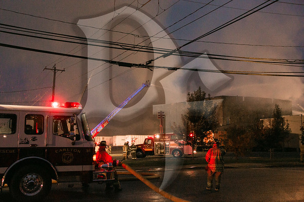 Building Fire - Albion, NY 10/17/13